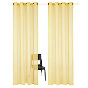 カプーア ドア黄色半透明の光の繊細な目懸濁液の 2 セットのハイネ ホーム セット