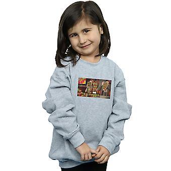 Scoobynatural Girls Supernatural Snakcks Sweatshirt