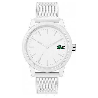 Lacoste białe 12.12 Watch biały pasek 2010984