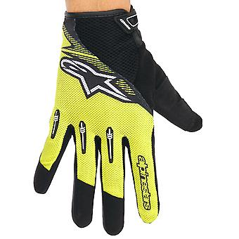 Alpinestars Acid Yellow-Black 2017 Flow MTB Gloves