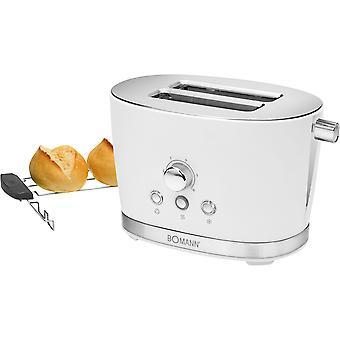Bomann toaster 2-slice white 3005 TA
