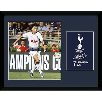 Tottenham Hotspur Son Heung-min 18/19 Collector Print 30x40cm