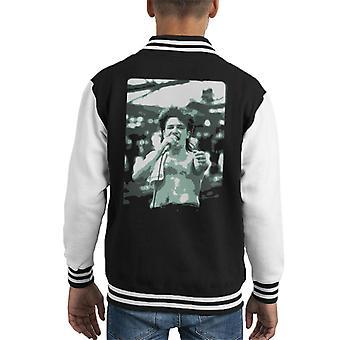 TV Times Bono Of U2 Live Kid's Varsity Jacket