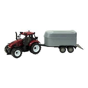 Tractor frictie met vee-aanhanger 37cm