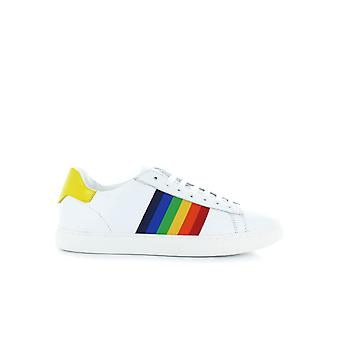 DSQUARED2 NEW TENNIS WHITE/YELLOW SNEAKER