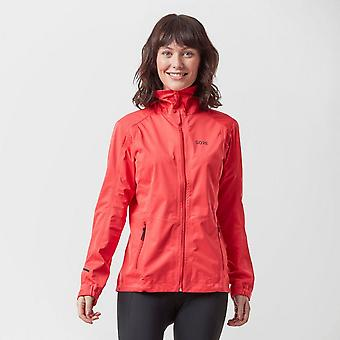 New Gore Women's R3 GORE-TEX Active Hooded Jacket Pink