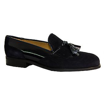 Something For Me Suede & Patent Loafer - 1593