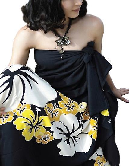 Waooh - Plage - Sarong à fleur