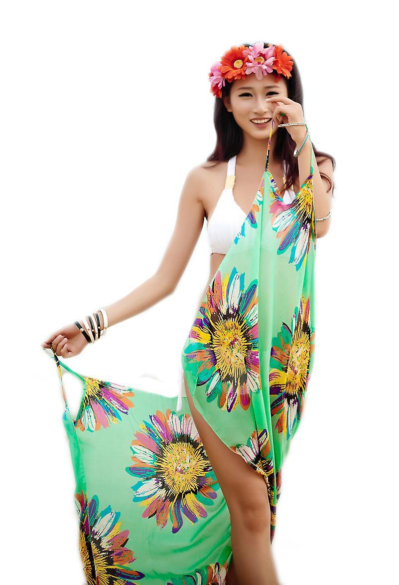 Waooh - Mode - Paréo fleuri