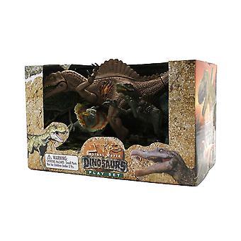 Extinct World Dinosaurs Boxed Playset, Style D