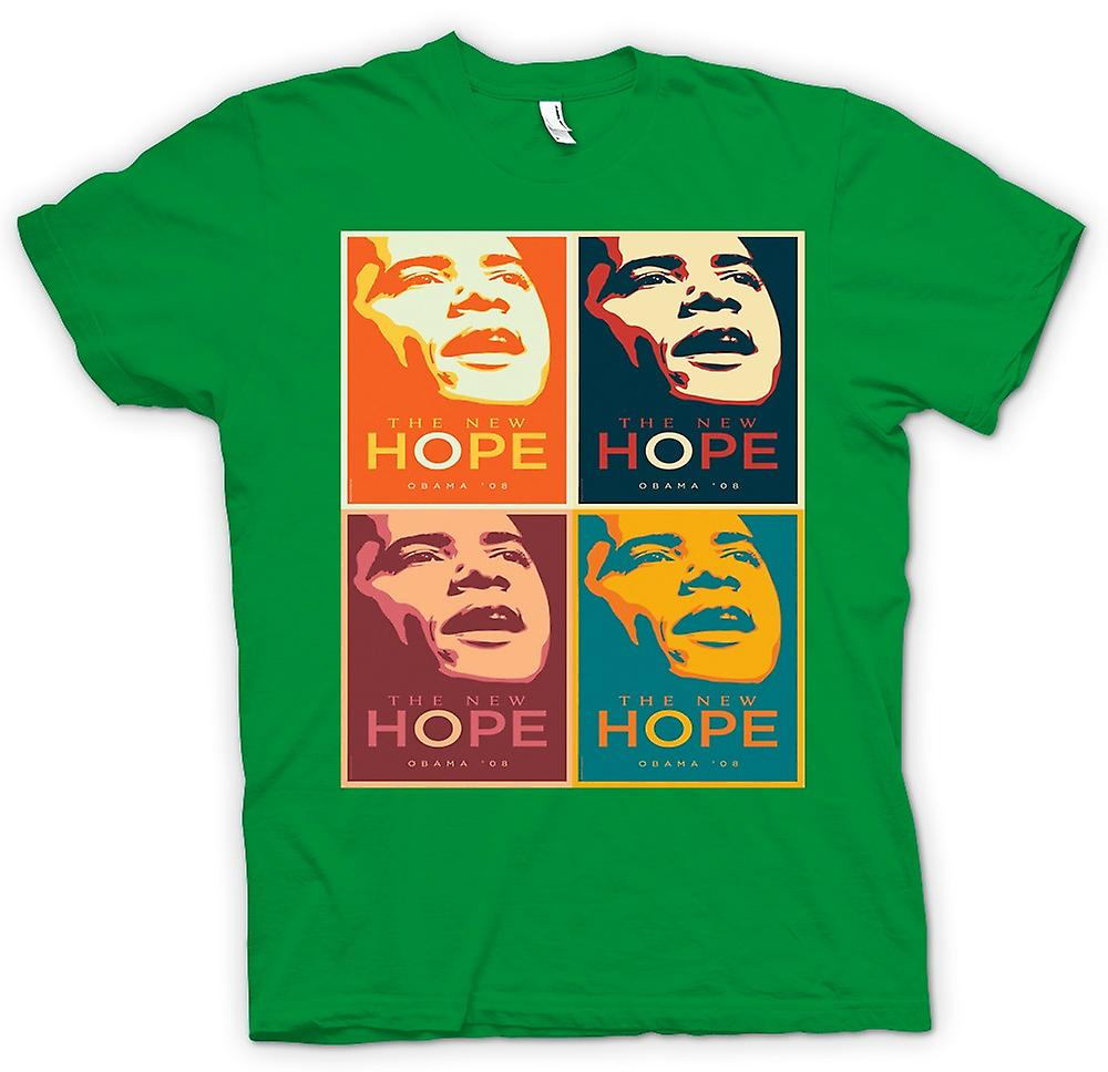 Mens t-shirt-Obama 08 la nuova speranza - Warhol