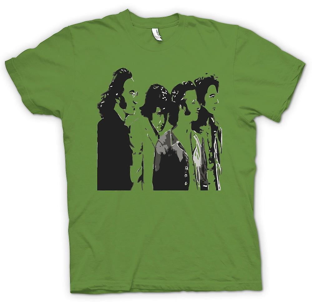 Mens t-skjorte - Beatles - Band - Pop Art
