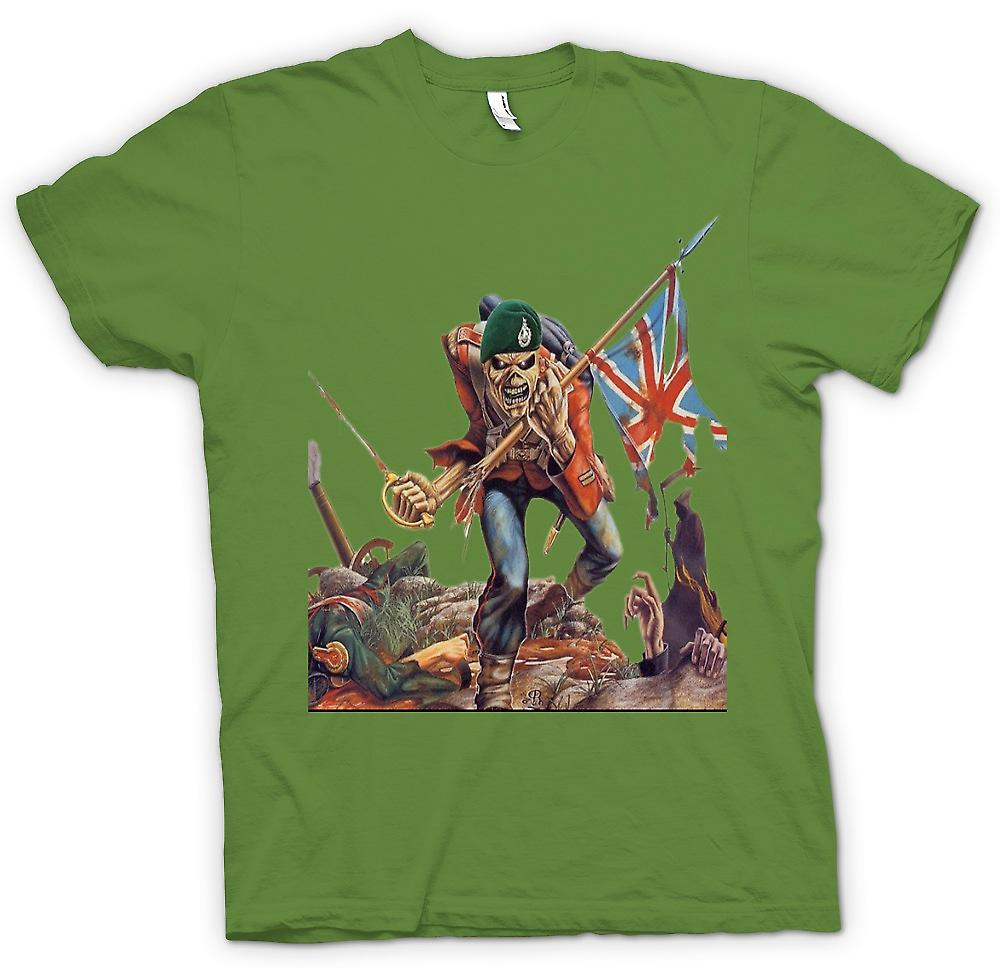 Mens t-shirt - The Trooper - Royal Marine Eddie