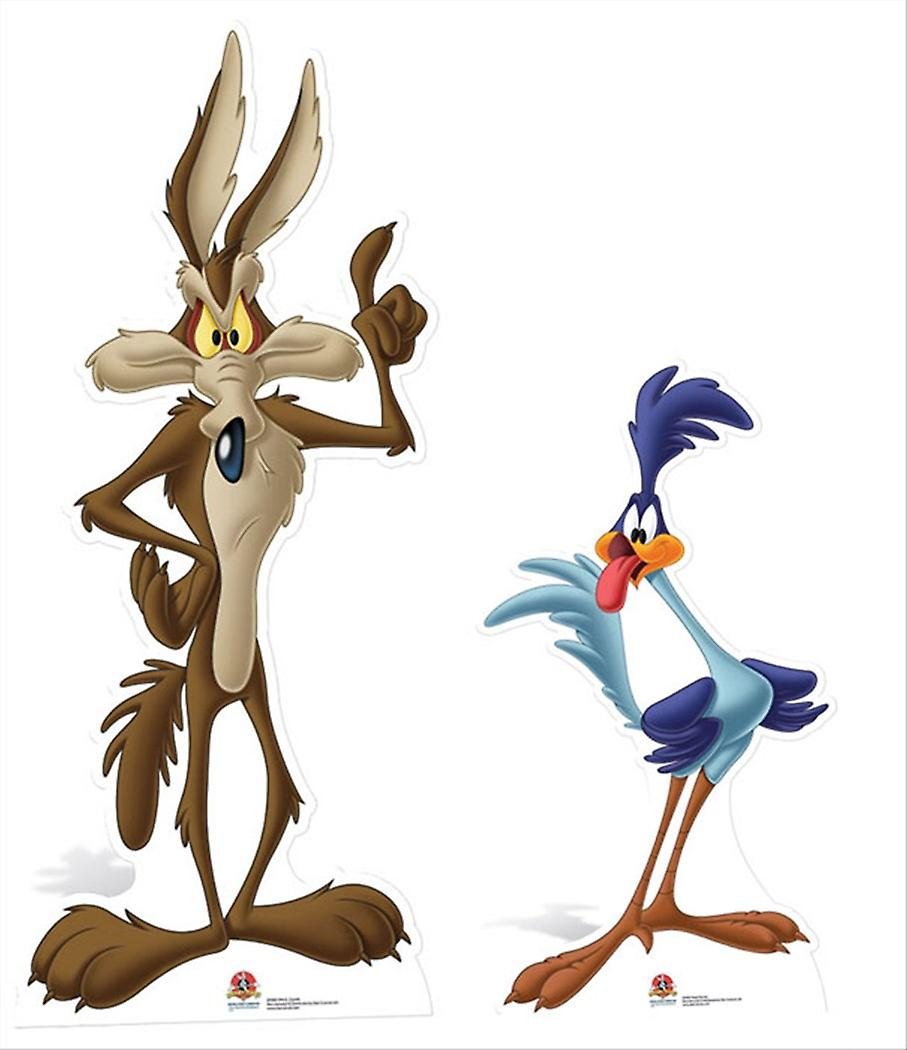Road Runner and Wile E Coyote Cardboard Cutout / Standee / Standup Double Pack