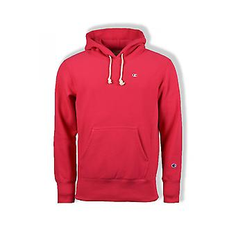 Champion Reverse Weave Hooded Sweatshirt (Pink?)