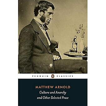 Culture and Anarchy and Other Selected Prose (Penguin Classics)