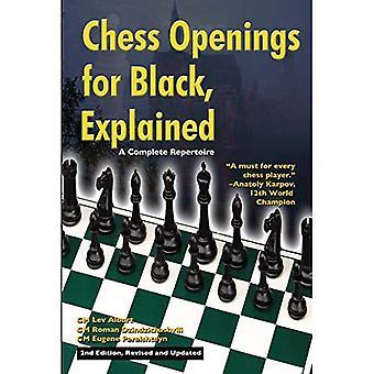 Chess öppningar för svart förklarade: en komplett repertoar