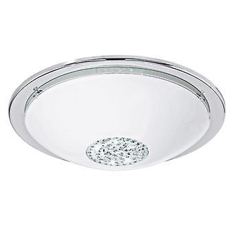 Eglo - Giolina LED Flush EG93778 Chrome luz de teto