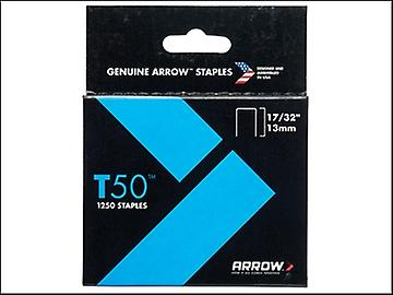 Arrow T50 Staples Ceiltile 13mm Box 1250