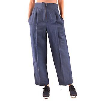 Céline Blue Linen Pants