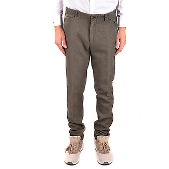 Daniele Alessandrini Green Cotton Pants