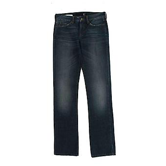 Cavalli Blue Wash Straight Fit Regular Jeans -- SIG1117765