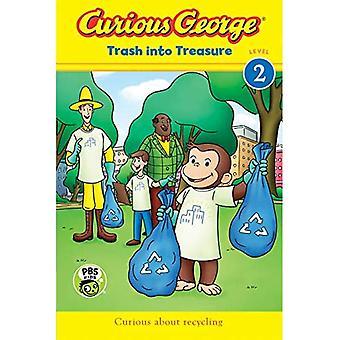 Curious George: Trash into Treasure (CGTV Reader) (Curious George)