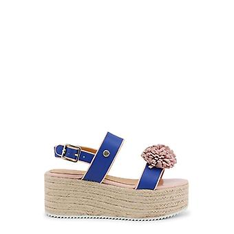 Love Moschino Women Blue Wedges -- JA16482672