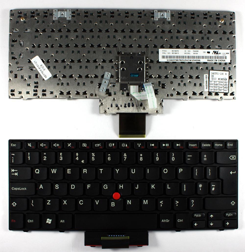 Lenovo Thinkpad Edge E11 avec pointeur Frame noir noir UK Layout remplaceHommest clavier d'ordinateur portable