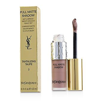 Yves Saint Laurent completa sombra mate - Taupe tentadora # 3 - 4.5ml/0.15oz