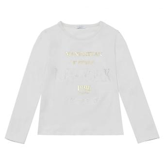 Byblos Kids impressão gráfica T-shirt