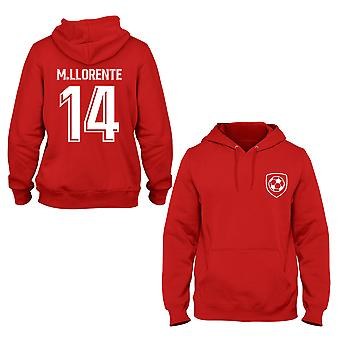 Marcos Llorente 14 Atheltico Madrid Style Player Kids Hoodie