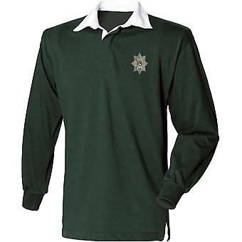 Worcestershire & Sherwood Foresters - Licensed British Army Embroidered Long Sleeve Rugby Shirt