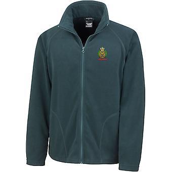 Royal Engineers Veteran - Licensed British Army Embroidered Lightweight Microfleece Jacket