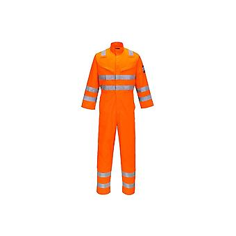 Portwest modaflame ris orange coverall mv91