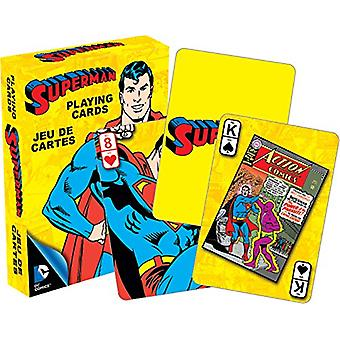 Playing Card - DC Comics - Retro Superman Hero Licensed Gifts Toys 52295
