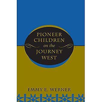 Bambini pionieri in viaggio verso ovest