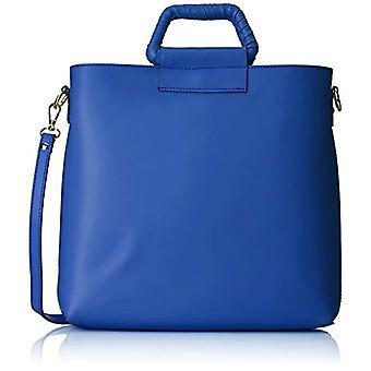 Chicca Bags 8700 Blue Women's shoulder bag (Blue) 32x31x8 cm (W x H x L)