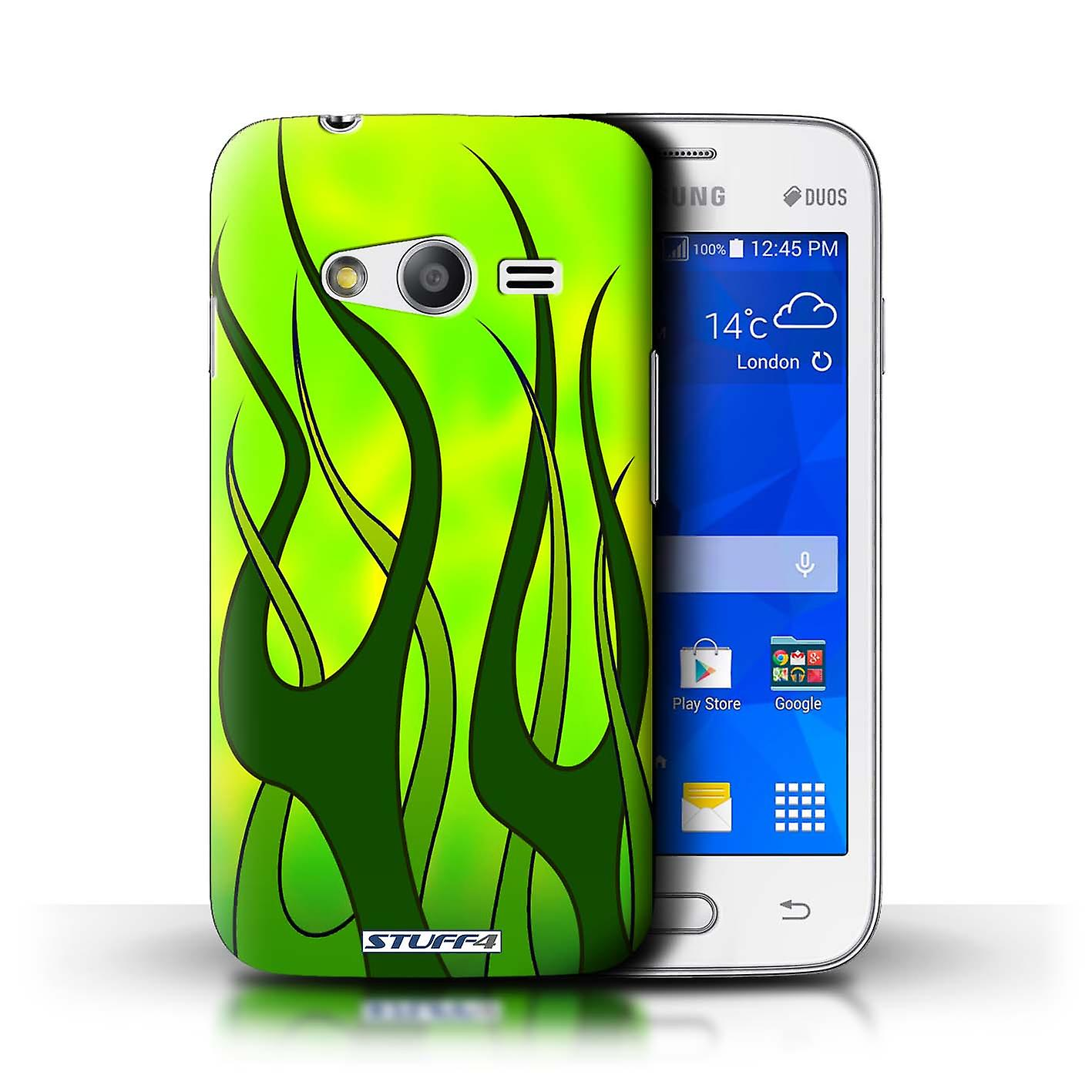 STUFF4 Case/Cover For Samsung Galaxy Trend Neo/G313/Green