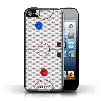 STUFF4 Case/Cover for Apple iPhone SE/Air Hockey/Games