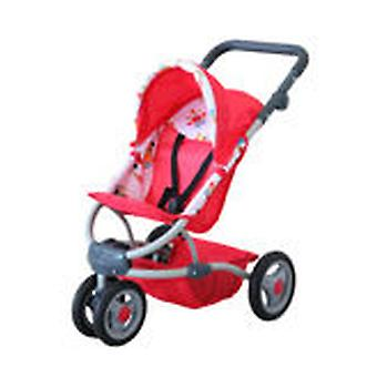 Decuevas Red Stroller (Toys , Dolls And Accesories , Baby Dolls , Strollers)