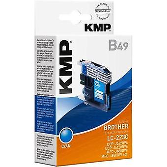 KMP Ink replaced Brother LC-223C Compatible Cyan 1529,0003