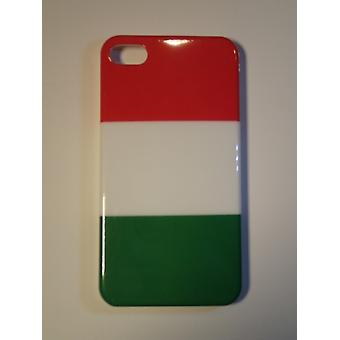 IPhone cover 4/4S-Italy Flag