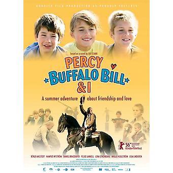 Percy Buffalo Bill et j'affiche de film (11 x 17)