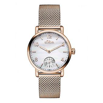 s.Oliver Women Watch SO-3077-MQ watch Rosé gold