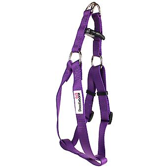 Doodlebone Bold Nylon Harness Purple Extra Large 25mm X80-90cm