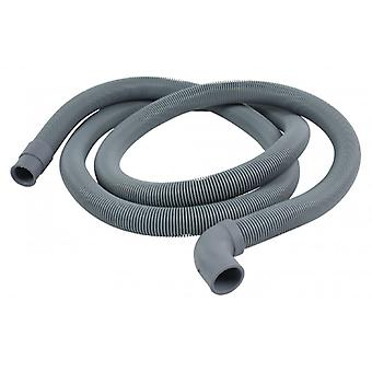 HQ air supply hose 22 mm curved-19 mm straight 1.50 m