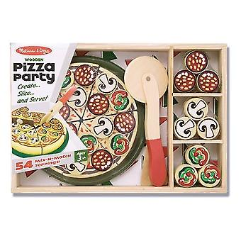 Melissa & Doug trä Pizza Party ålder 3 +