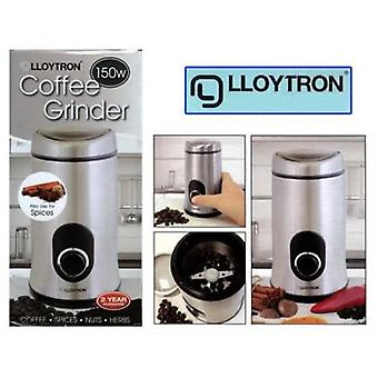 Lloytron Stainless Steel Coffee/ Spice Grinder (E5602SS)