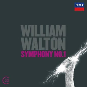 Walton: Symfoni No.1; Cellokoncert af Andrew Litton